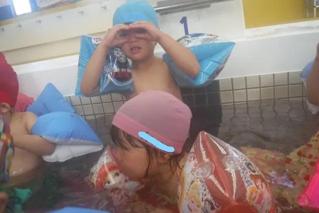 2歳児スイミング レイクタウン 保育園